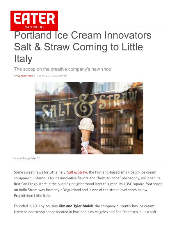 Fa 08.18.2017 Eater Sd Portland Ice Cream Innovators Salt & Straw Coming To Little Italy