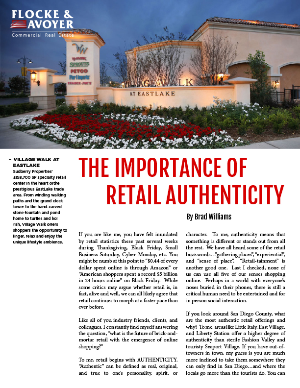 Fa Brad Williams The Importance Of Retail Authenticity