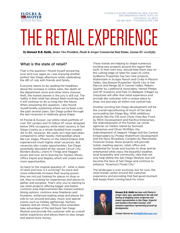 Fa Stewart Keith The Retail Experience