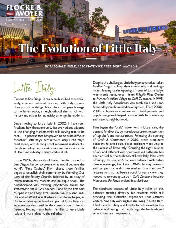 Fa Pasquale Ioele The Evolution Of Little Italy