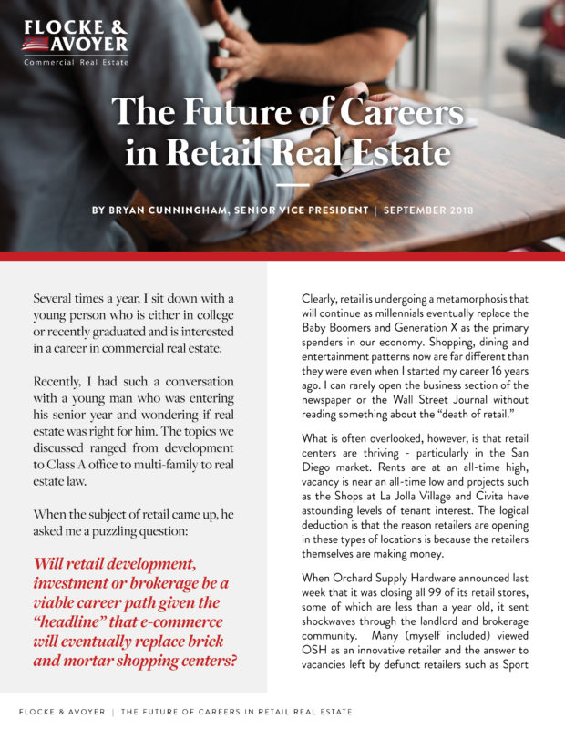 Fa Bryan Cunningham The Future Of Careers In Retail Real Estate