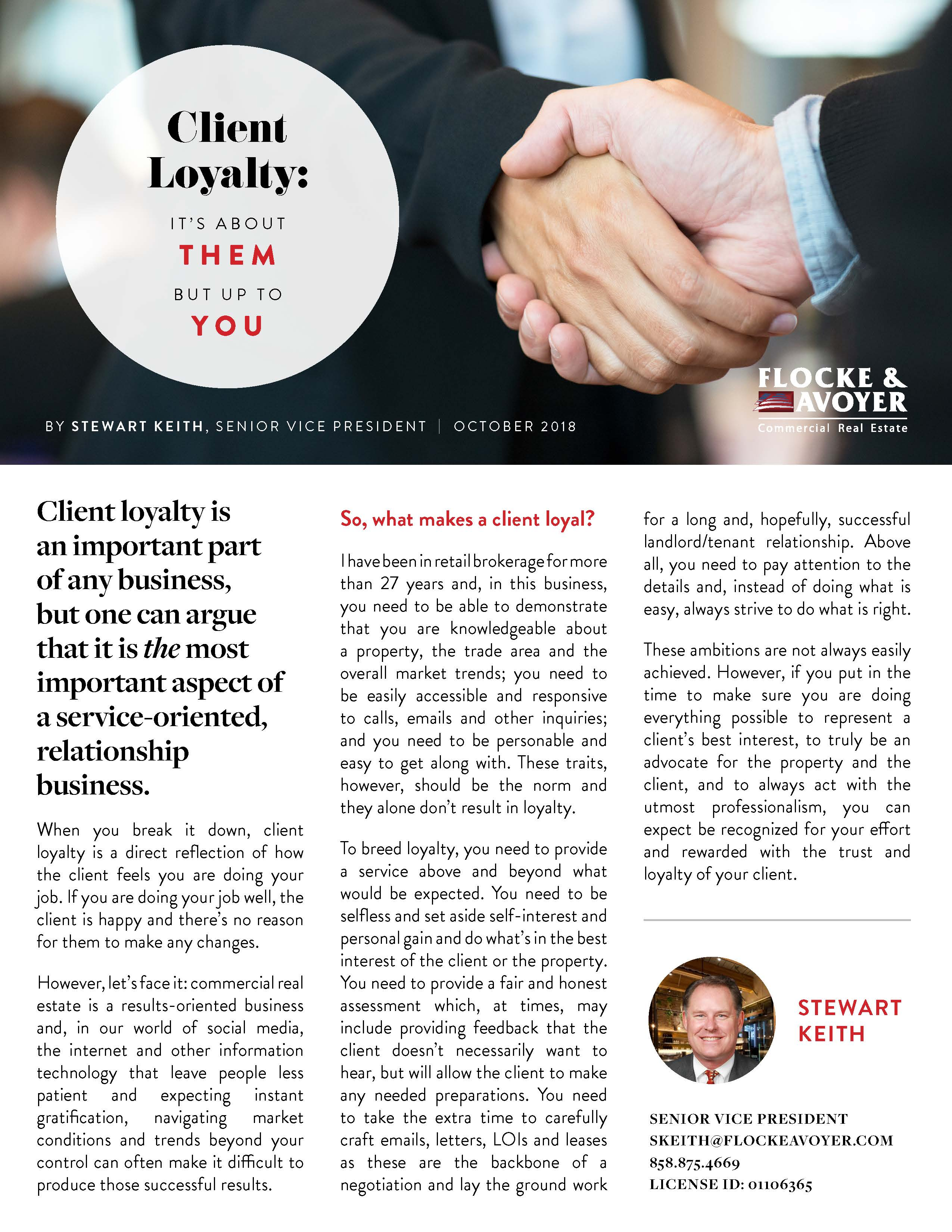 Fa Stewart Keith Client Loyalty It's About Them But Up To You
