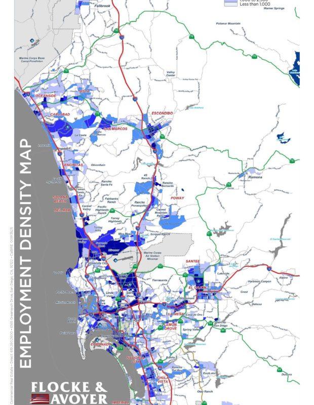 Fa Employment Density Map