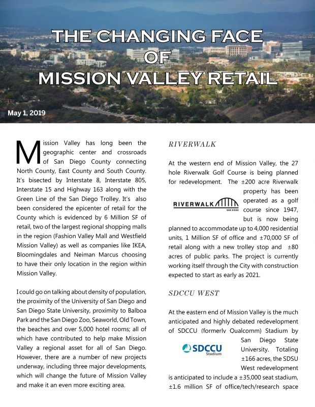 Fa The Changing Face Of Mission Valley Page 1
