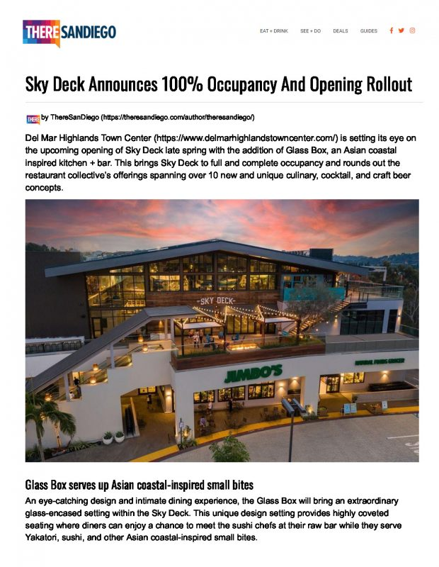 There San Diego Sky Deck Page 1