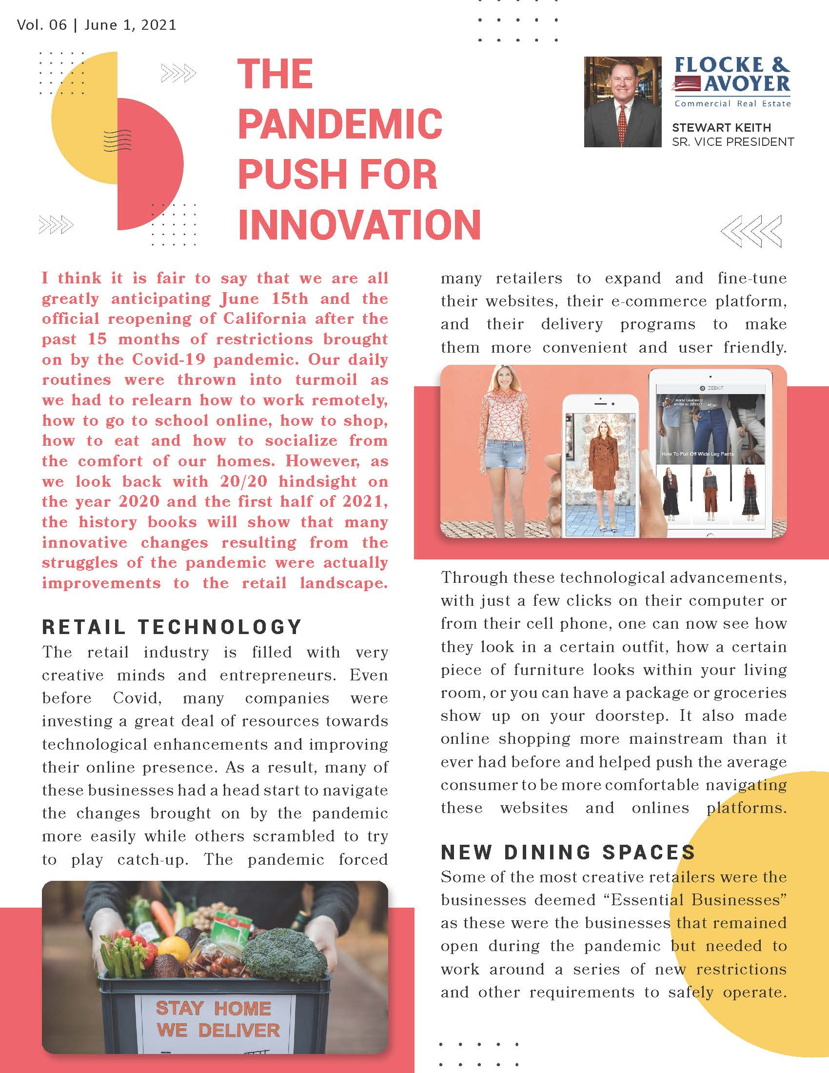 Article The Pandemic Push For Innovation Page 1